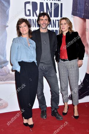 Stock Picture of Giovanna Mezzogiorno, Luca Lucini and Margherita Buy