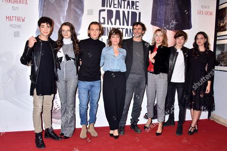 Emanuele Misuraca; Saul Nanni; Eleonora Gaggero ; Primaversi clear; Federico Russo ; Luca Lucini ; Margherita Buy, Giovanna Mezzogiorno
