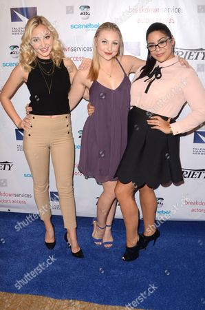 Audrey Whitby, Shelby Wulfert and Jessica Marie Garcia