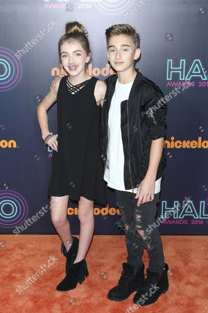 Lauren Orlando and Johnny Orlando