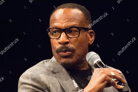 Stock Picture of Filmmaker Frank Dawson, creator of 'Agents of Change' screened at NYC Documentary Film Festival at School of Visual Arts Theater.