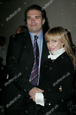 Brittany Murphy and husband Simon Monjack