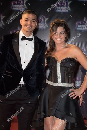 Hatem Ben Arfa and Laetitia Milot in Cannes