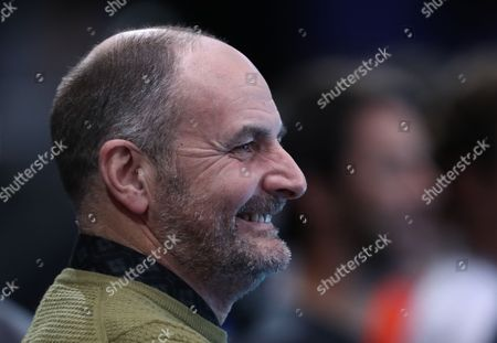 William Murray Father of Jamie Murray  watches  Bruno Soares  and Jamie win there first match in Round Robin Doubles Tournament  against Huey and Mirnyi  played at O2 Arena  London on 13th November 2016