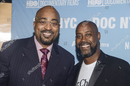 Stock Picture of Dennis Scott, Kenny Anderson
