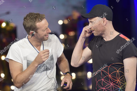 The Coldplay, Chris Martin, Jonny Buckland