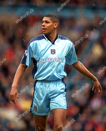 Carlton Palmer (Coventry City) Coventry City 2:3 Charlton Athletic F A Cup 5th round 29/1/2000 Great Britain Coventry