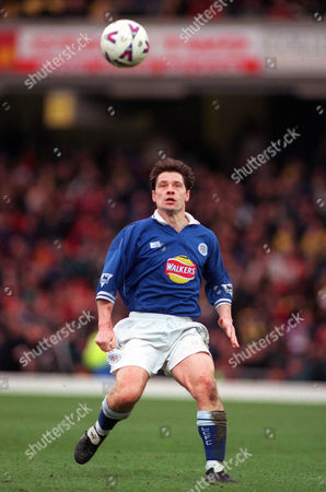 Tony Cottee (Leicester City) Watford v Leicester City FA Premiership 12/2/2000 Great Britain London