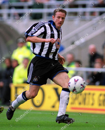Stock Picture of Kevin Gallacher (Newcsatle United) Newcastle United v Watford FA Premiership 11/03/2000 Great Britain Newcastle