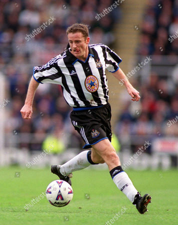 Stock Photo of Kevin Gallacher (Newcastle United) Newcastle United v Watford FA Premiership 11/03/2000 Great Britain Newcastle