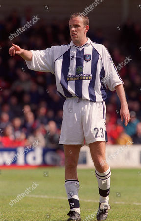 Tony Butler - West Brom Walsall v West Bromwich Albion Division One 22/4/00 Great Britain Walsall