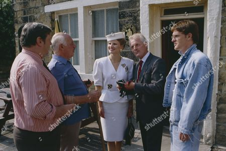 Editorial photo of 'Emmerdale' TV Series - Sep 1991