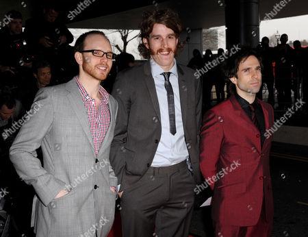 The Hoosiers -Alfonso Sharland, Martin Skarendahl and Irwin Sparkes