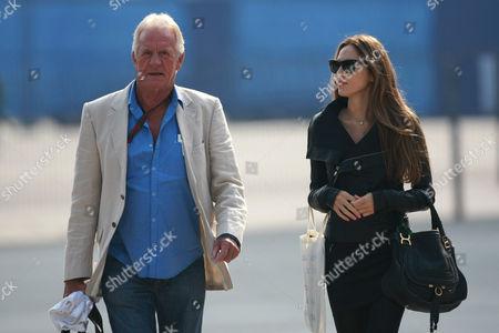 Formula One - FIA F1 World Championships - Chinese Grand Prix Jessica Michibata (JPN) girlfriend of Jenson Button (GBR) and John Button father of Jenson Button (GBR)