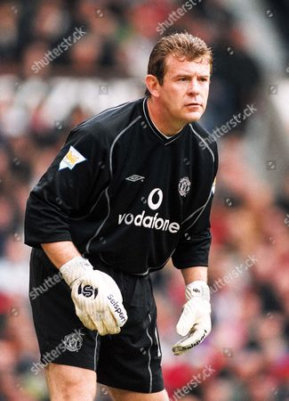Stock Image of Andy Goram - Man Utd Manchester United v Coventry City FA Premiership 14/4/2001 Great Britain Manchester