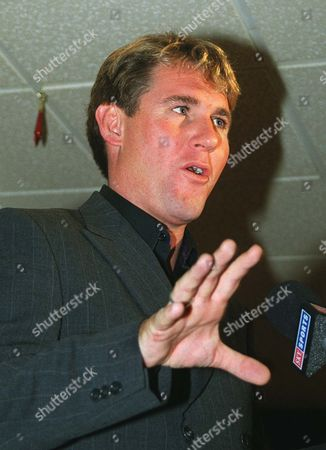Simon Jordan (Crystal Palace Chairman) talks of his reasons for appointing Trevor Francis Crystal Palace Press conference 30/11/2001  Great Britain London
