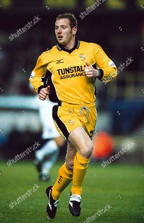 Steve Brooker - Port Vale Millwall v Port Vale Division Two 11/4/2001 Great Britain London