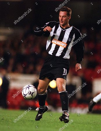 Paul Groves (Grimsby Town) Arsenal v Grimsby Town Worthington Cup 4th Round 27/11/2001 Great Britain London