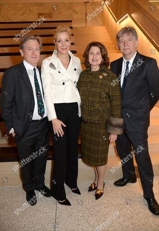 Stock Image of John Pawson, Nadja Swarovski, Lady Jill Ritblat and Deyan Sudjic