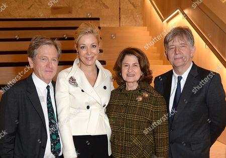 Stock Photo of John Pawson, Nadja Swarovski, Lady Jill Ritblat and Deyan Sudjic