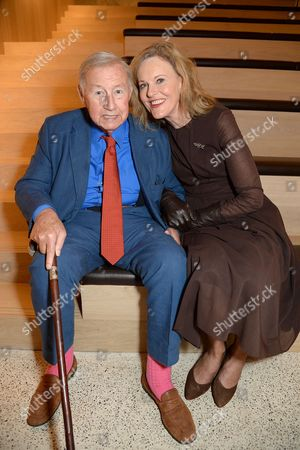 Stock Image of Sir Terence Conran and Vicki Conran