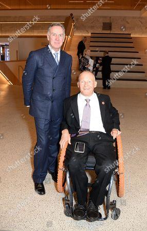 Stock Image of Hugh Devlin and David Constantine