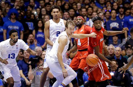 Editorial image of Marist Duke Basketball, Durham, USA - 11 Nov 2016