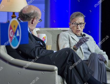 Ruth Bader Ginsburg and Kenneth Feinberg