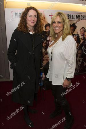 Rebekah Brooks and Francie Clarkson