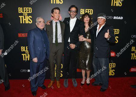 Martin Scorsese, Miles Teller, Ben Younger, Katey Sagal, Vinny Paz