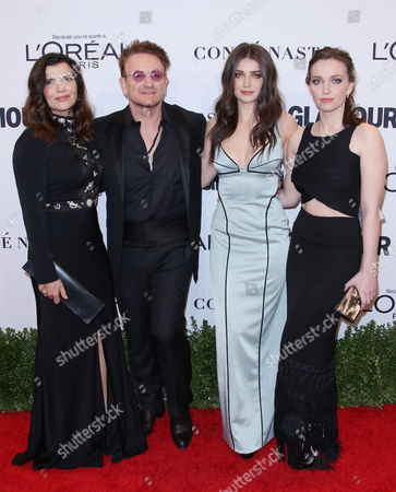 Ali Hewson, Bono, Eve Hewson and Jordan Hewson