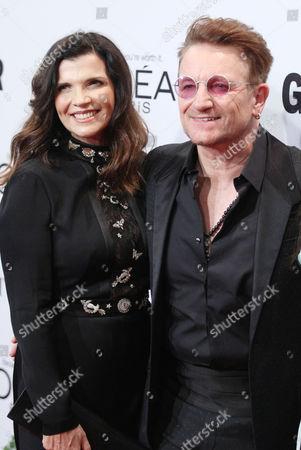 Stock Picture of Ali Hewson and Bono