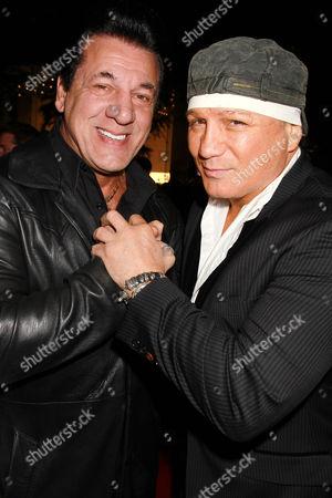 Chuck Zito and Vinny Paz