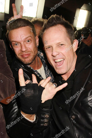 Jamie McCarthy and Dean Winters