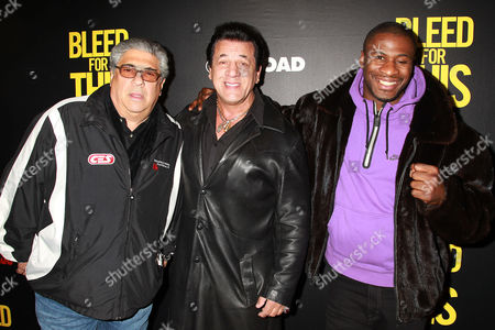 Vincent Pastore, Chuck Zito and Eric Kelly