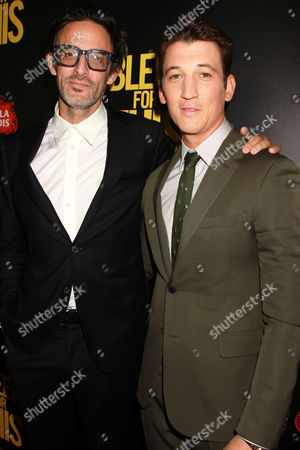 Ben Younger and Miles Teller