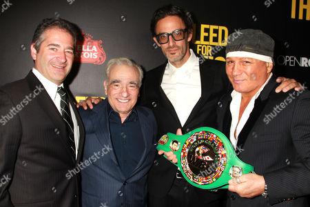 Chad Verdi, Martin Scorsese, Ben Younger and Vinny Paz