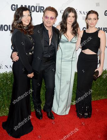 Eve Hewson, Jordan Hewson, Bono, Alison Hewson