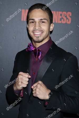 Editorial picture of 'Bleed for This' film premiere, Arrivals, New York, USA - 14 Nov 2016