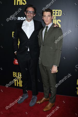 Ben Younger, director/writer and Miles Teller