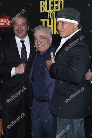 Chad Verdi, Martin Scorsese and Vinny Paz