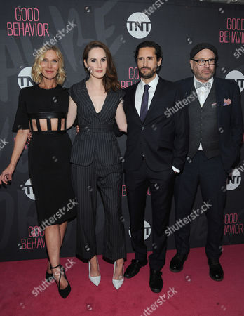 Lusia Strus, Michelle Dockery and Juan Diego Botto and Terry K