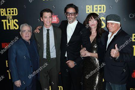 Martin Scorsese, Miles Teller, Ben Younger, Katey Sagal and Vinn