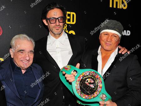 Martin Scorsese, Ben Younger, Vinny Paz