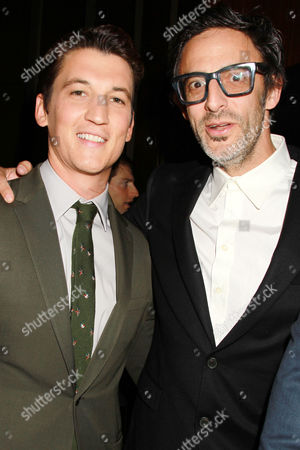 Stock Picture of Miles Teller and Ben Younger