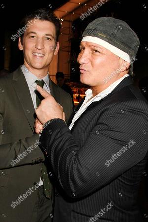 Miles Teller and Vinny Paz