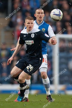 Editorial image of Blackburn 1 Huddersfield 0