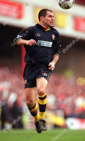 Francis Benali - Southampton Arsenal 3:1 Southampton FA Premiership 26/2/2000 Great Britain London