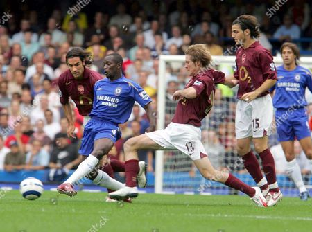 Editorial picture of Chelsea 1 Arsenal 0 - 21 Aug 2005