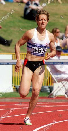 Allison Curbishley (GBR) Women's 400M Norwich Union AAA Championships and Olympic Trials Alexander Stadium Birmingham 13/08/00 Great Britain Birmingham